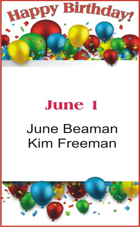 Happy Birthday to Beaman Freeman