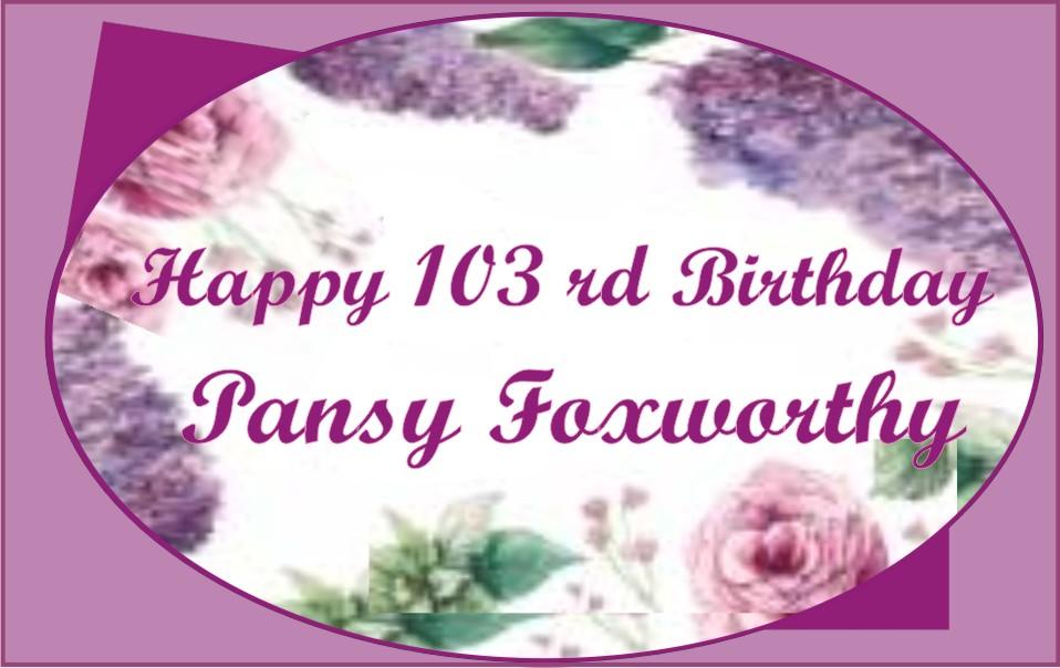 Happy Birthday to Foxworthy
