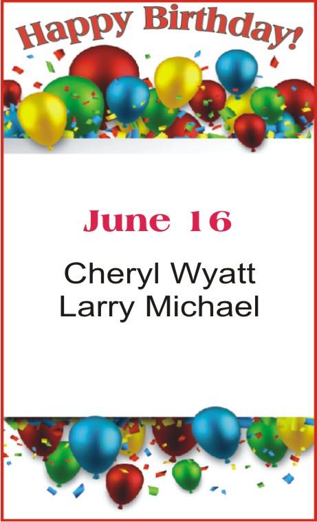 Happy Birthday to Wyatt Michael