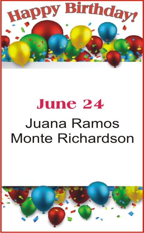 Happy Birthday to Ramos Richardson