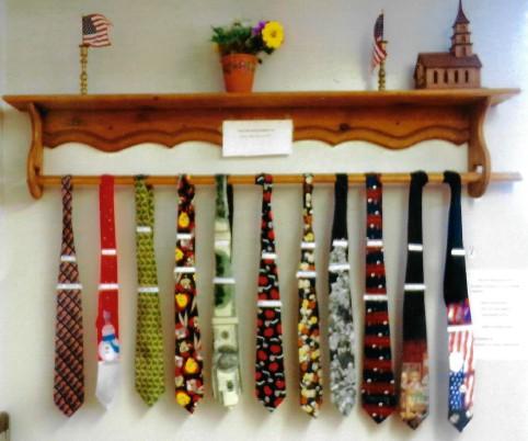 PICT Ties on display at Weisbrod Hospital - Linda Trosper
