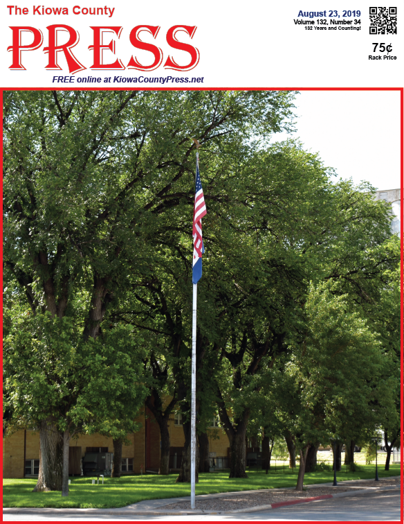 Photo of the Week - 2019-08-23 - Kiowa County Courthouse in Eads, Colorado