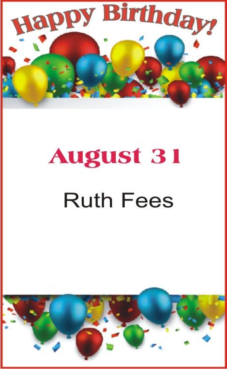 Happy Birthday to Fees