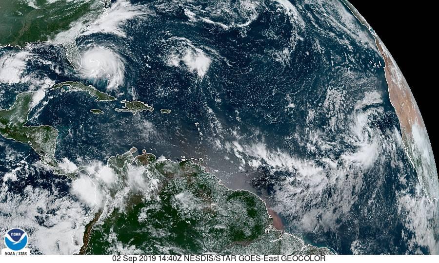 SATELLITE Central Atlantic Ocean September 2, 2019 - NOAA