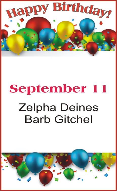 Happy Birthday to Deines Gitchel