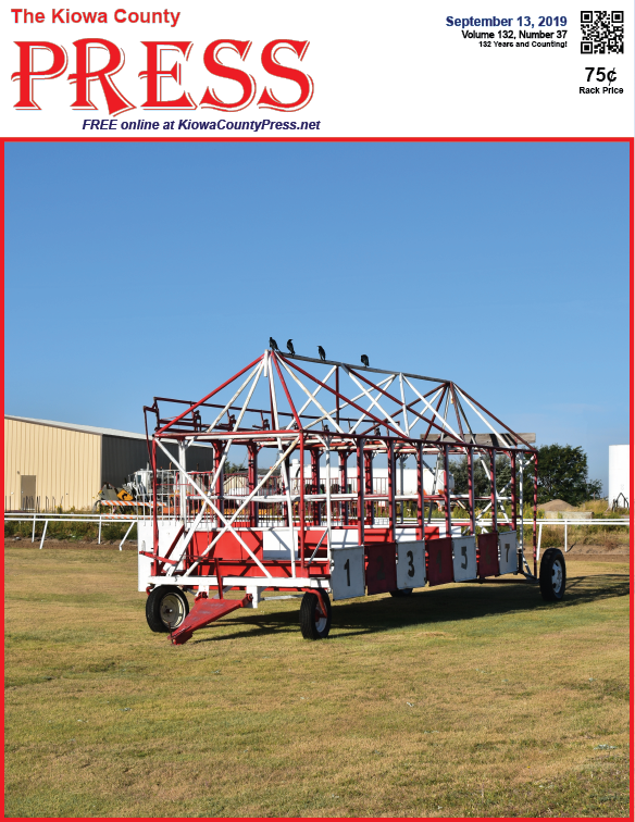 Photo of the Week - 2019-09-13 - Horse starting gates at the fairgrounds in Eads, Kiowa County, Colorado