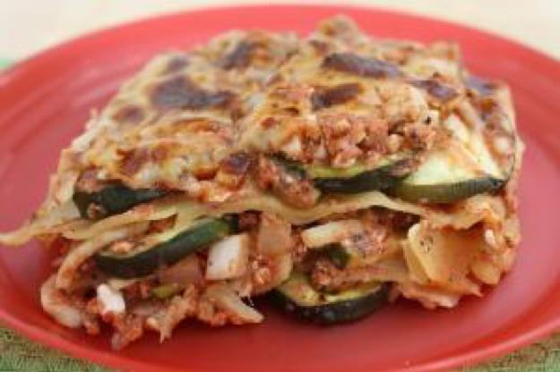 PICT RECIPE Zucchini Lasagna - USDA