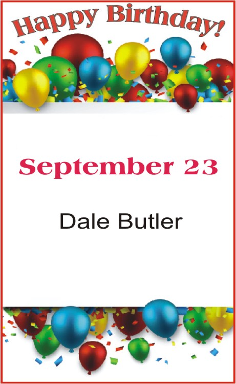 Happy Birthday to Butler