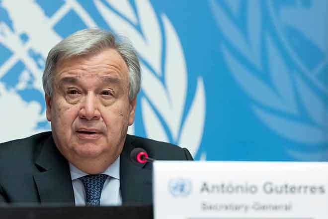 PICT PEOPLE UN Secretary General Antonio Guterres - Jean Marc Ferre, UN Photo