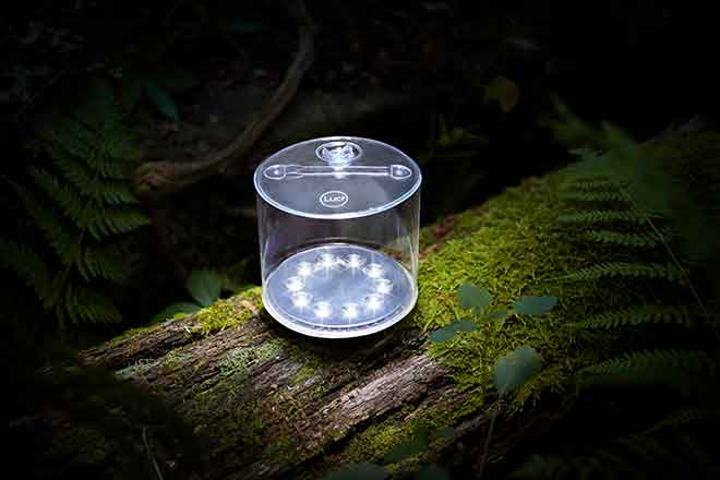 PICT EARTHTALK 64J1  MPOWERD makes and sells solar powered task lights