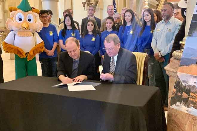 PICT Colorado Governor Jared Polis Signs Shared Stewardship Memorandum of Understanding with USDA and DNR