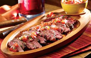 PICT RECIPE Agentinean Grilled Steak with Salsa Criolla - USDA