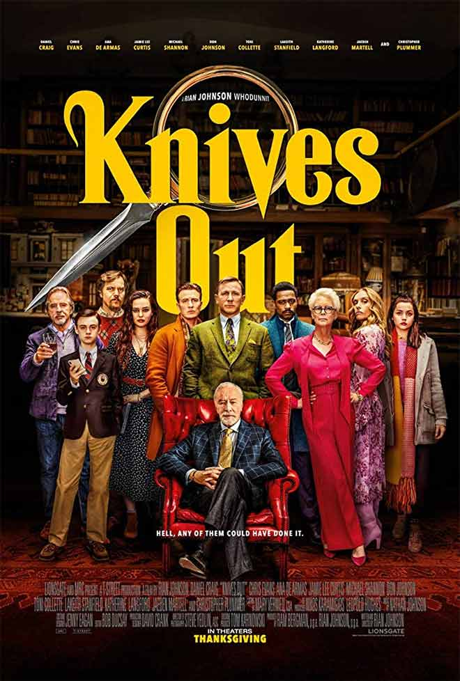 PICT Movie Knives Out