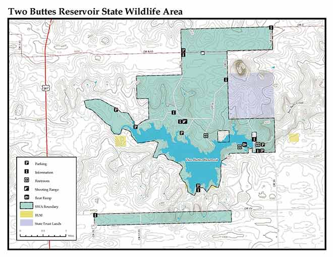 MAP Two Buttes Reservoir - CPW