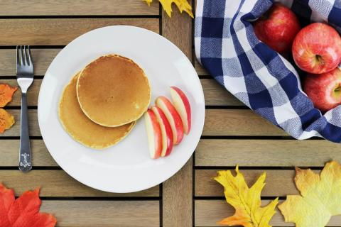 PICT RECIPE Perfect Pumpkin Pancakes - USDA