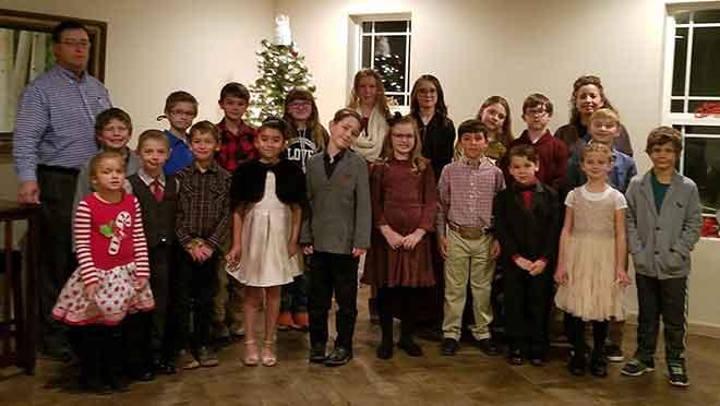 PICT Community Childrens Christmas Cantata - Sharon Wilson