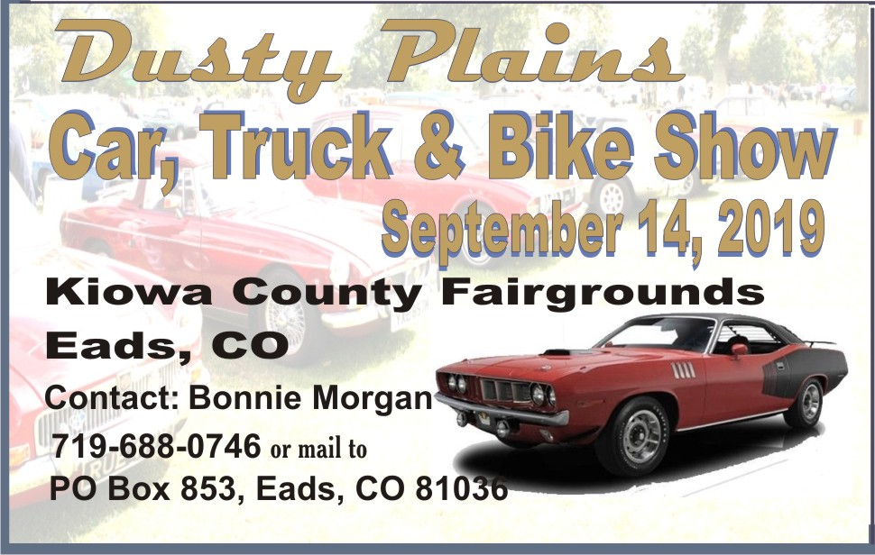 PICT 2019 Kiowa County Fair Sponsor - Dusty Plains Car Show