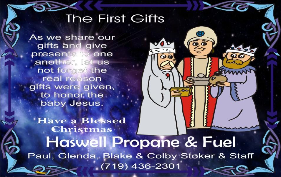 2019 Christmas - Haswell Propane