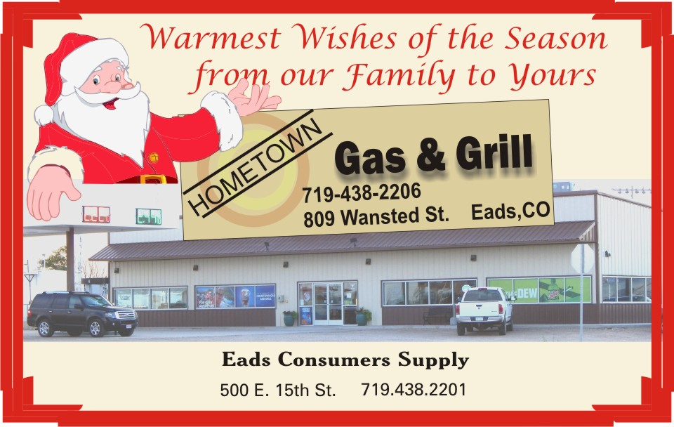 2019 Christmas - Hometown Gas and Grill
