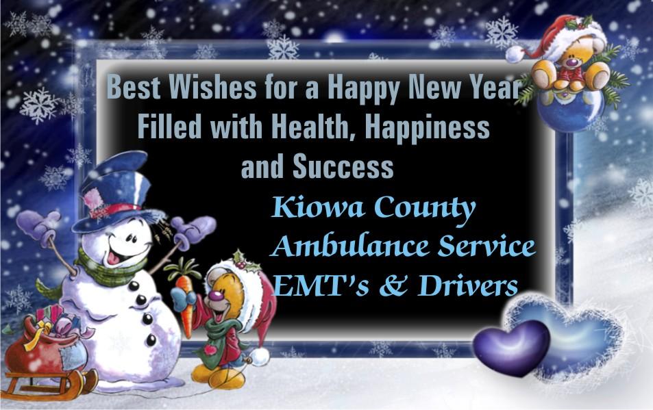 2019 Christmas - Kiowa County Ambulance