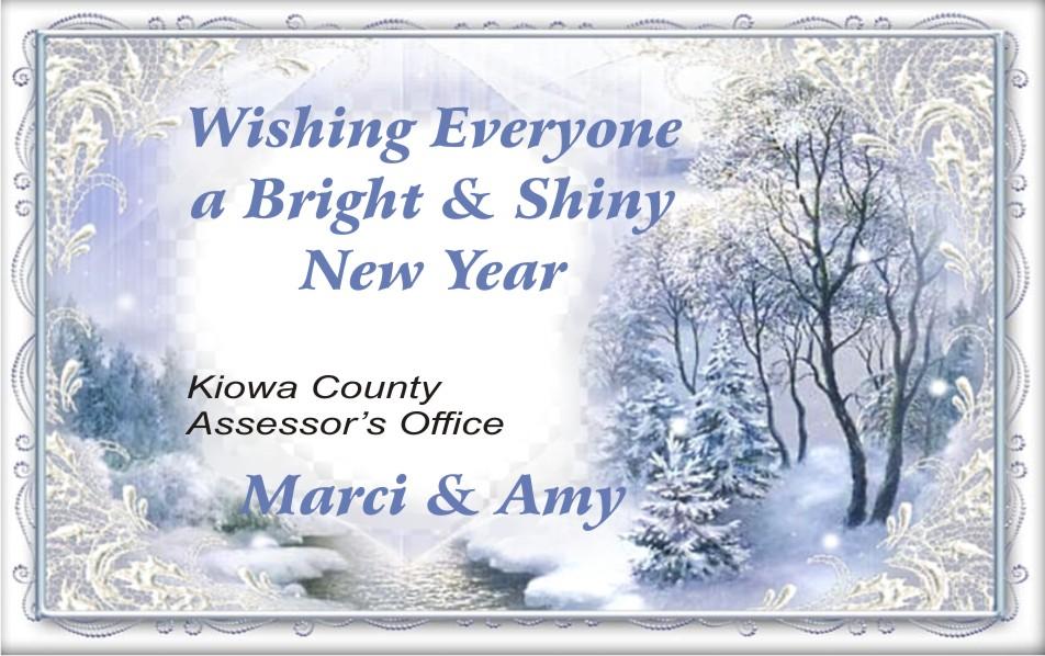 2019 Christmas - Kiowa County Assessor