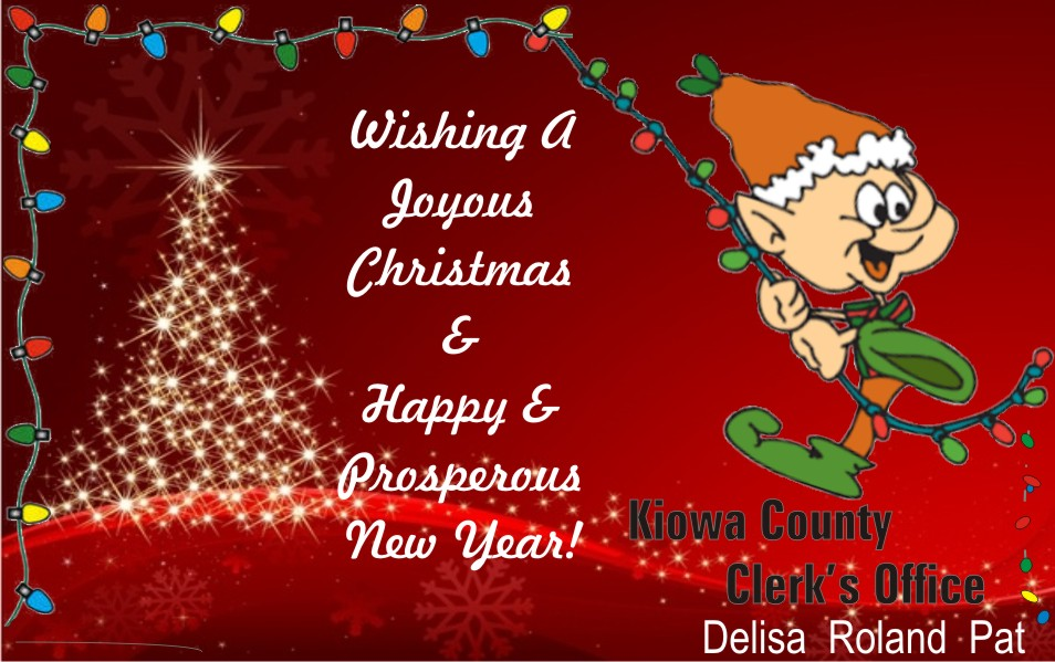 2019 Christmas - Kiowa County Clerk