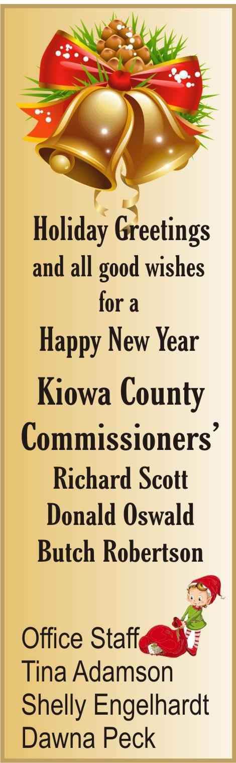 2019 Christmas - Kiowa County Commissioners