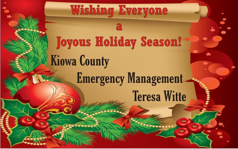 2019 Christmas - Kiowa County OEM