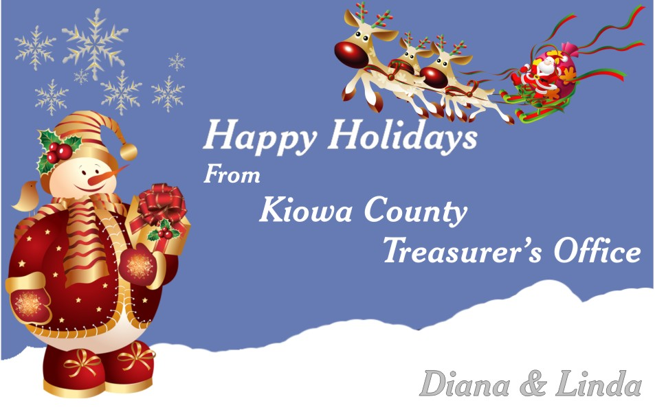 2019 Christmas - Kiowa County Treasurer