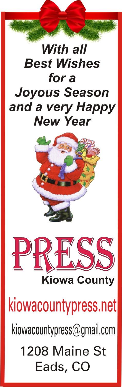 2019 Christmas - Kiowa County Press