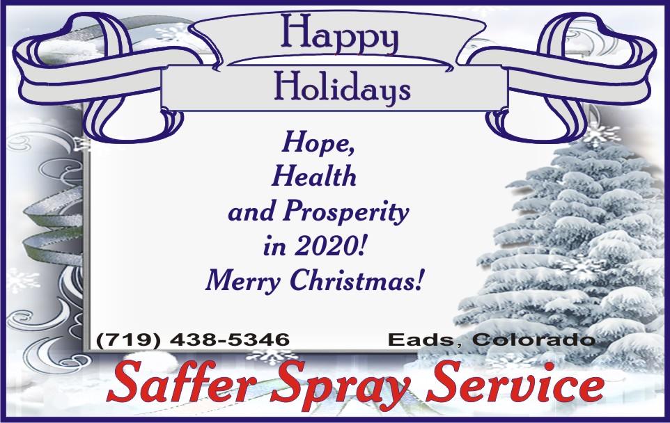 2019 Christmas - Saffer Spray Service