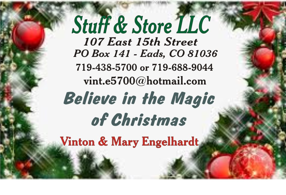 2019 Christmas - Stuff and Store