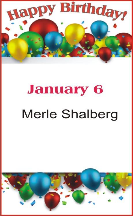 Happy Birthday to Shalberg