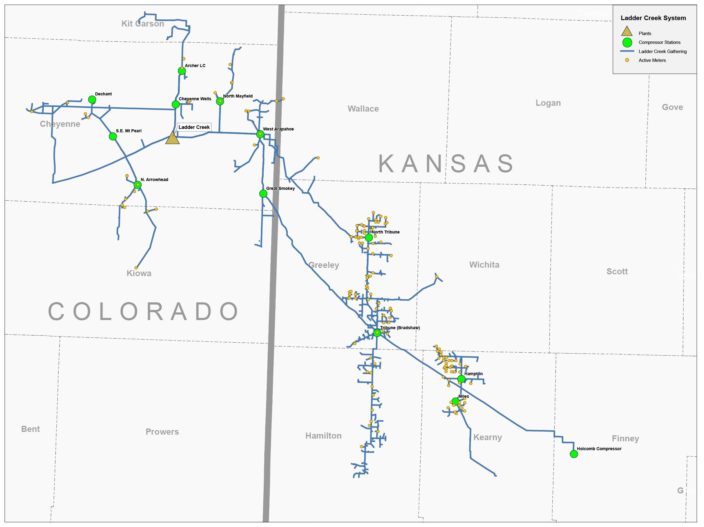 MAP Ladder Creek System