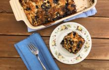 PICT Blueberry Coffee Cake - USDA