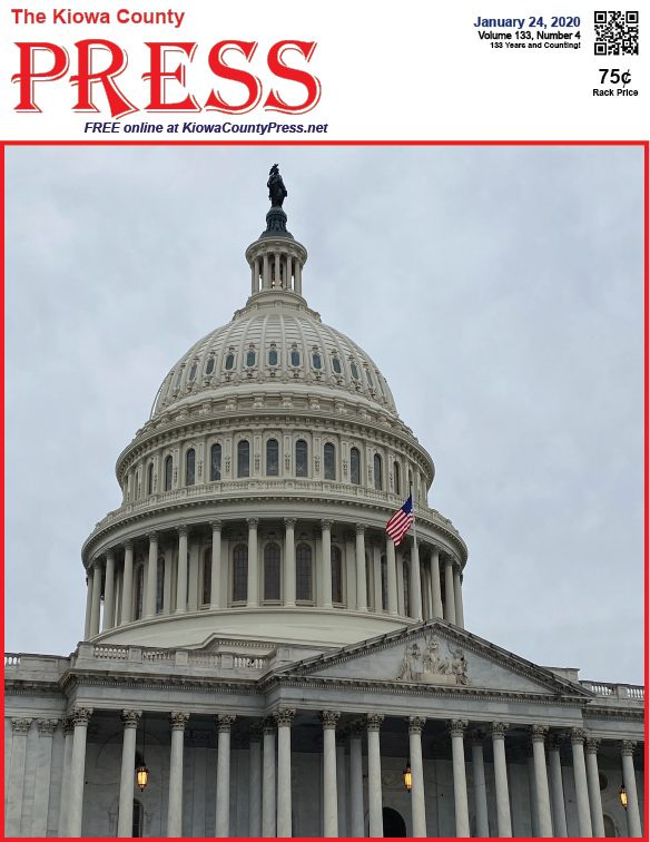 Photo of the Week - 2020-01-24 - United States Capitol building in Washington, D.C.