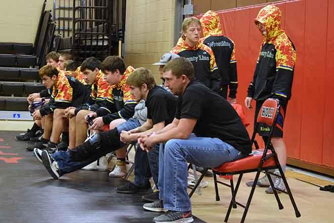 PICT County Line Rivals wrestling team - Rhonda Uhland