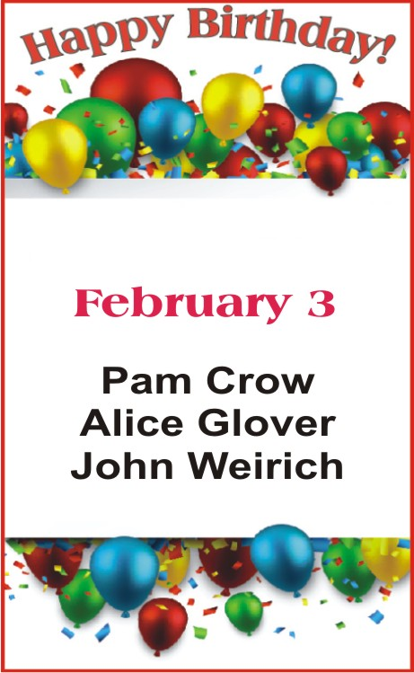 Happy birthday to Crow Glover Weirich