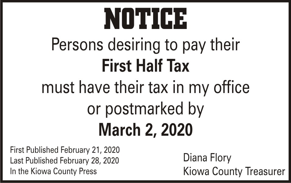 AD 2020-02 Community - Tax Payment