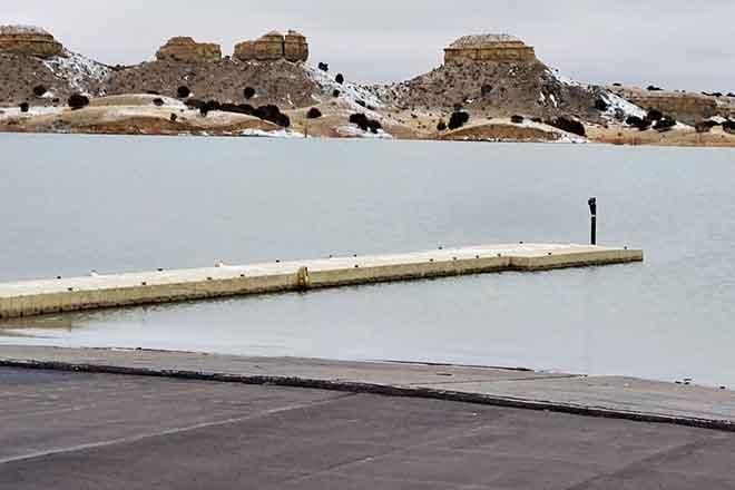 PICT Lake Pueblo South Marina Boat Ramp