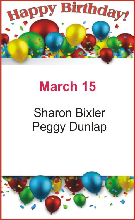 Happy birthday to Bixler Dunlap