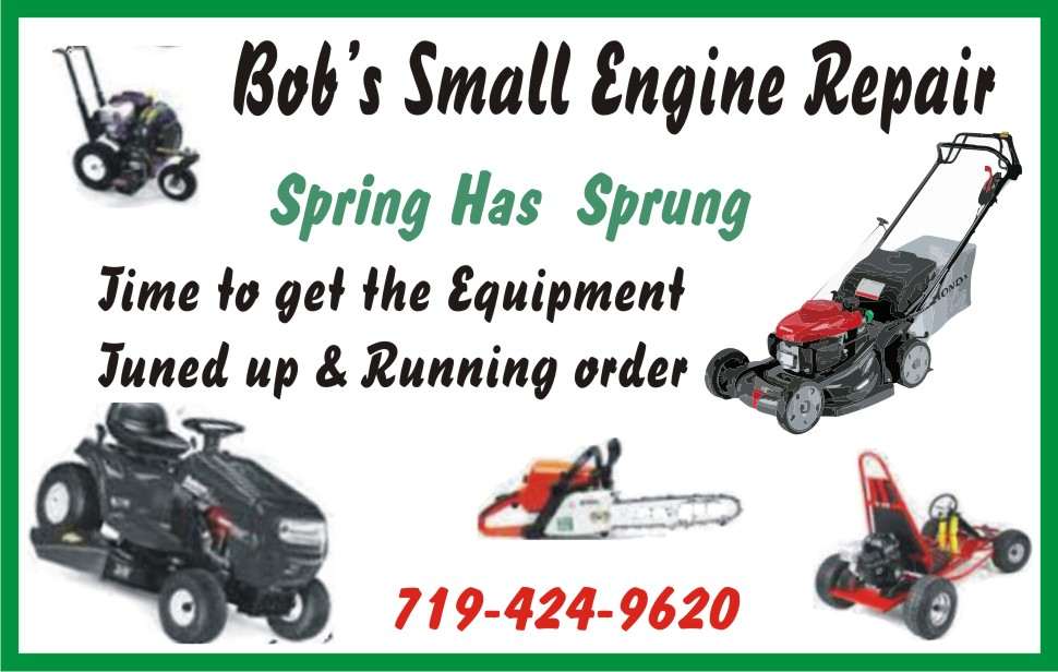 AD 2020-04 Services - Bob's Small Engine Repair