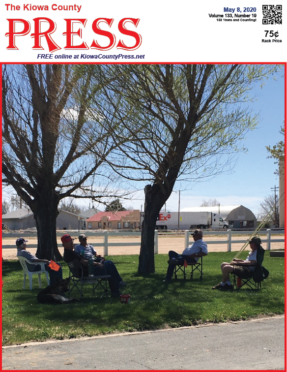 Photo of the Week - 2020-05-08 - Enjoying the park while observing social distancing guidance in Eads, Kiowa County, Colorado.