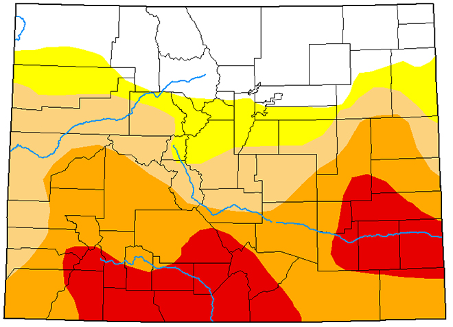 MAP Colorado Drought Conditions - May 19, 2020 - National Drought Mitigation Center