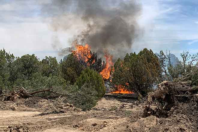 PICT 466 Fire in Las Animas County May 23, 2020 - Nick Palmer