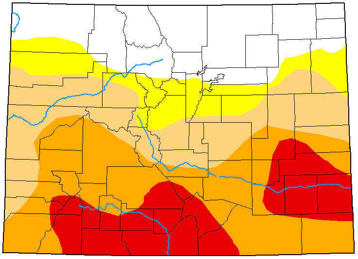 MAP Colorado Drought Conditions - May 26, 2020 - National Drought Mitigation Center