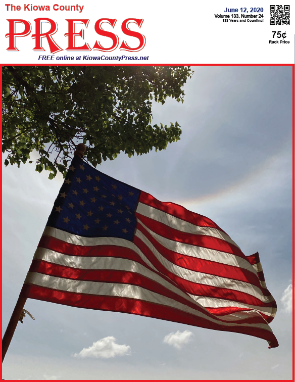 Photo of the Week - 2020-06-12 - United States flag in honor of flag day.