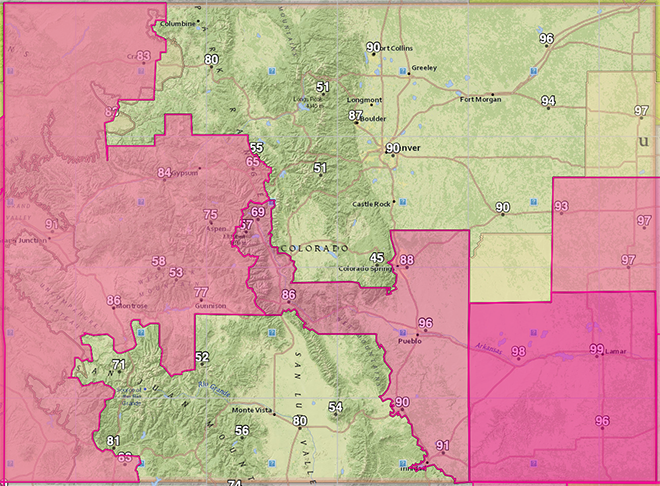 MAP Red flag warnings for Saturday and Sunday, June 13-14, 2020 - NWS