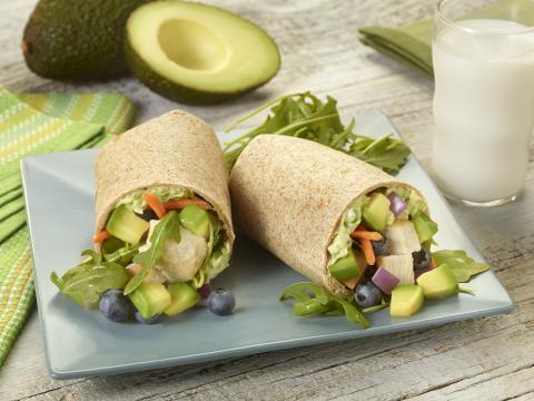 PICT RECIPE Avocado Wraps - USDA