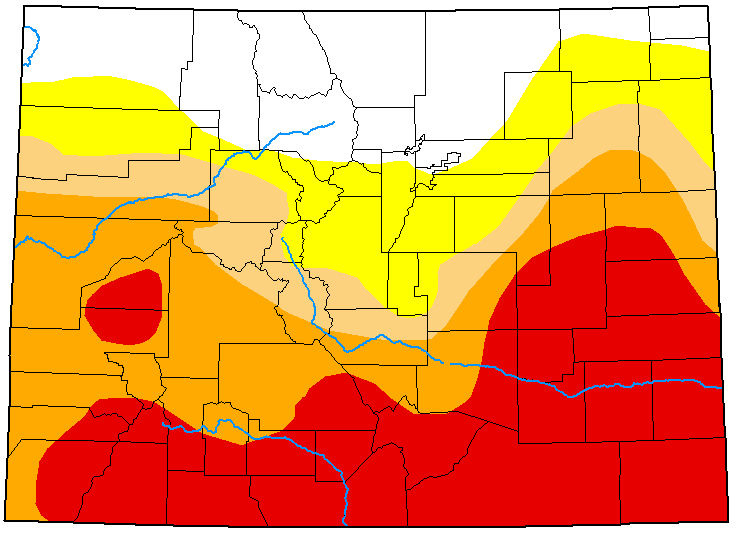 MAP Colorado Drought Conditions - June 16, 2020 - National Drought Mitigation Center